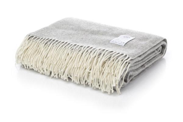 White Boutique Одеяло Winterberry (light grey 7-10)